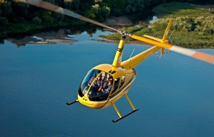 Lot śmigłowcem dla 3 osób