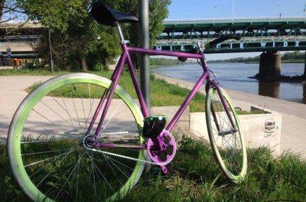 Wykonanie roweru według własnego pomysłu