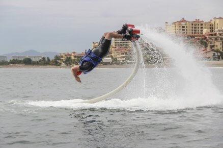 Flyboard - loty nad wodą