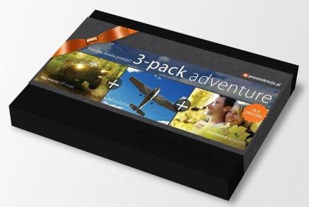 3-pack Adventure - trzy przeżycia w jednym pakiecie
