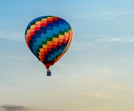 5 faktów: Loty balonem - infografika