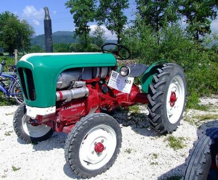 Lamborghini: traktor, który zdeklasował Ferrari