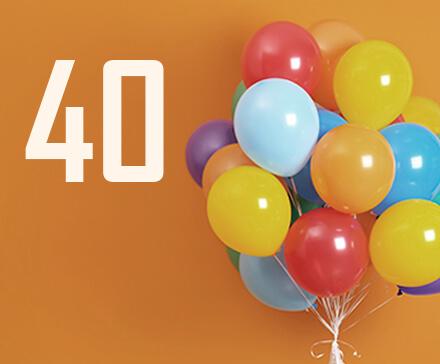 Jaki prezent na 40 urodziny? Pomysły na oryginalne upominki