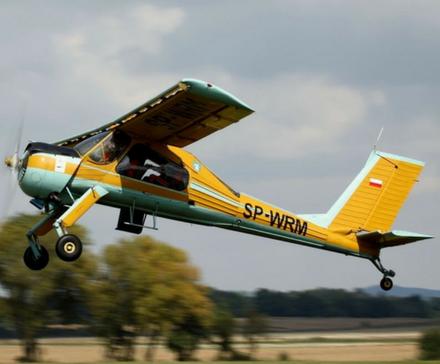 Relacja: Lot samolotem Wilga nad Zamkiem Książ