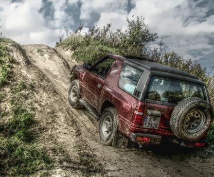 Off-road - adrenalina z napędem na cztery koła
