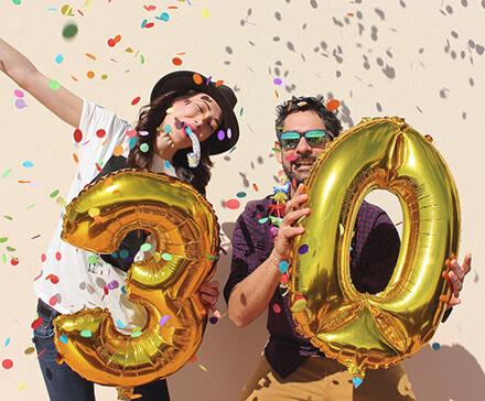 Pomysły na prezent na 30 urodziny