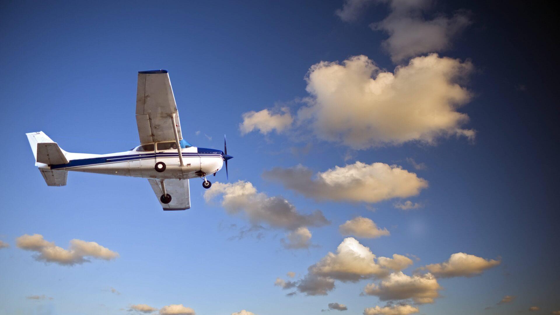 Loty widokowe samolotem