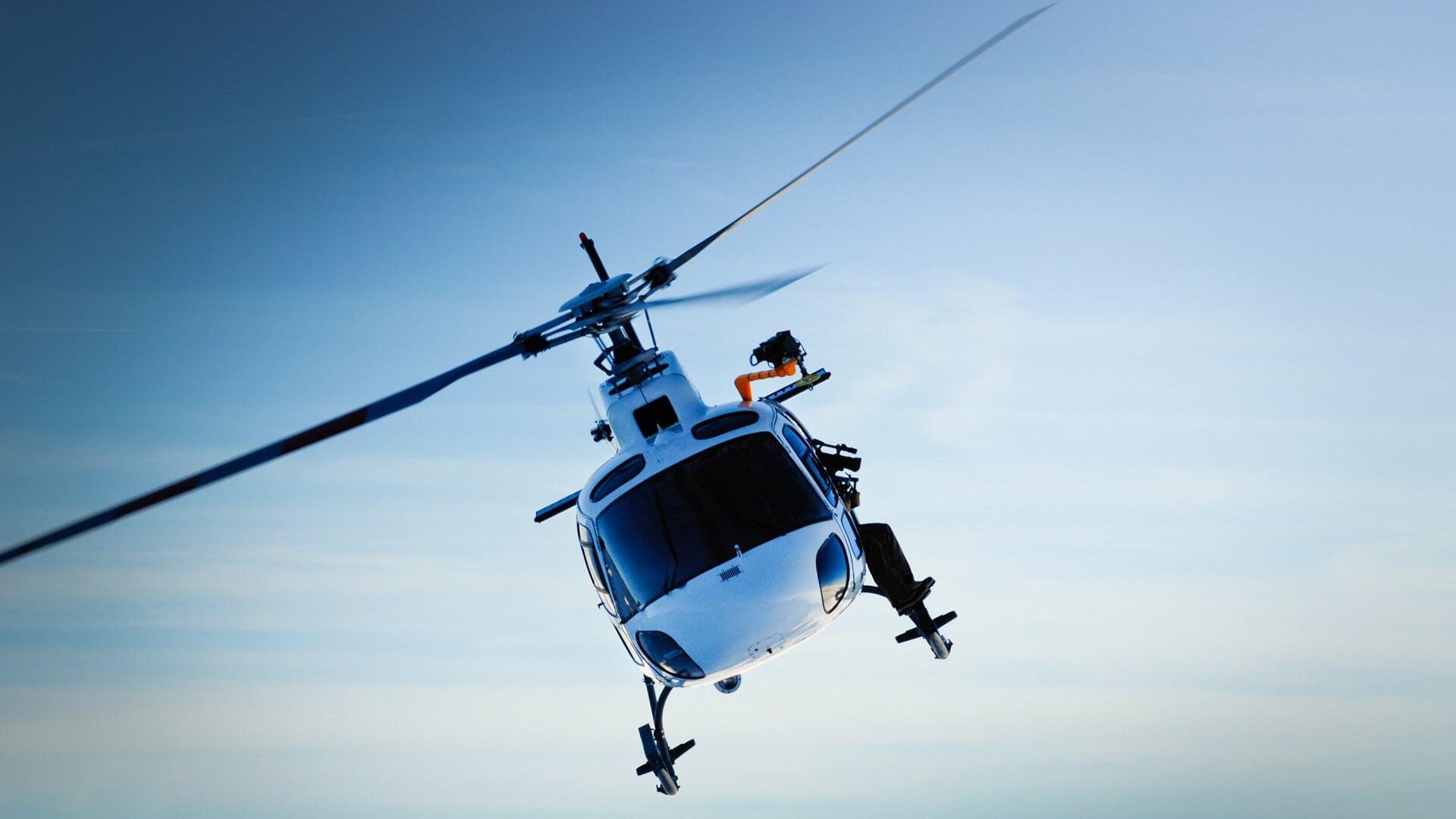 Loty helikopterem