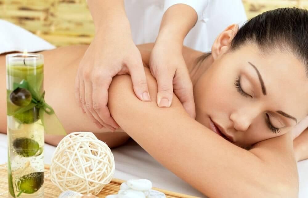 Żurawinowy masaż SPA