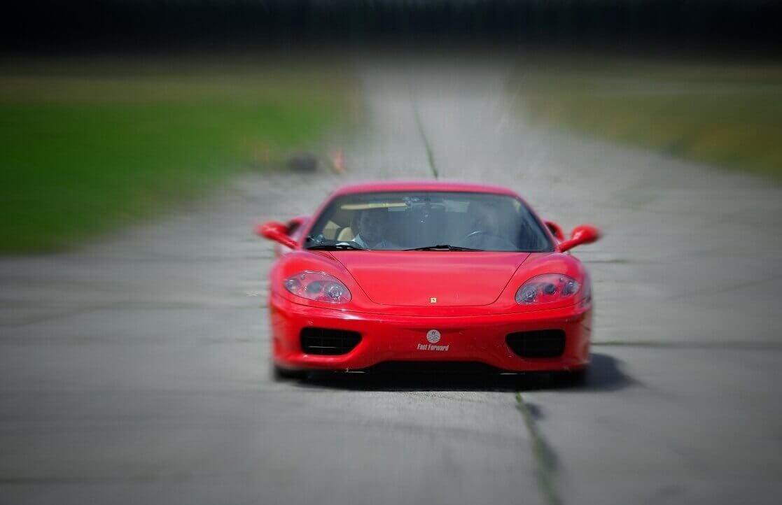 Jazda Ferrari na torze - 8 km