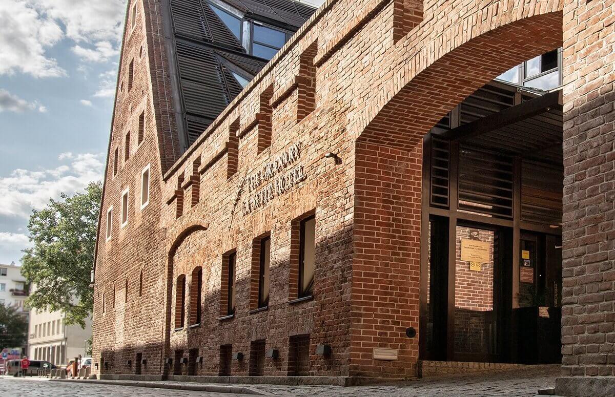 Restauracja Mennicza Fusion mieści się w historycznym spichlerzu Hotelu Granary