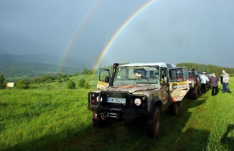 Weekend off-road w Górach Kaczawskich