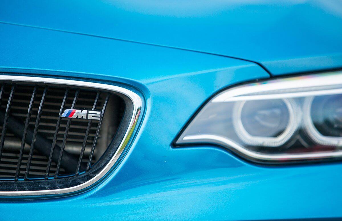 Jazda na torze za kierownicą BMW M2