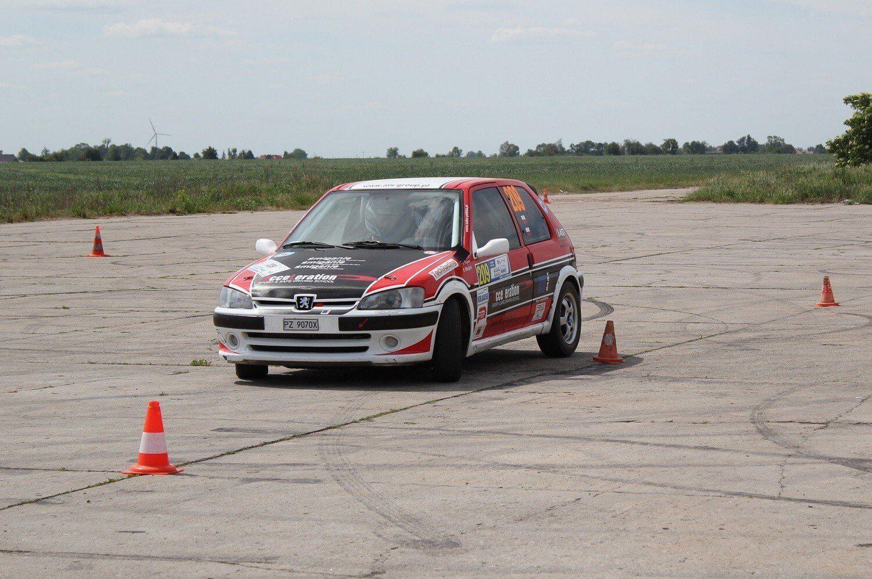 Rajdowy trening jazdy w okolicach Poznania