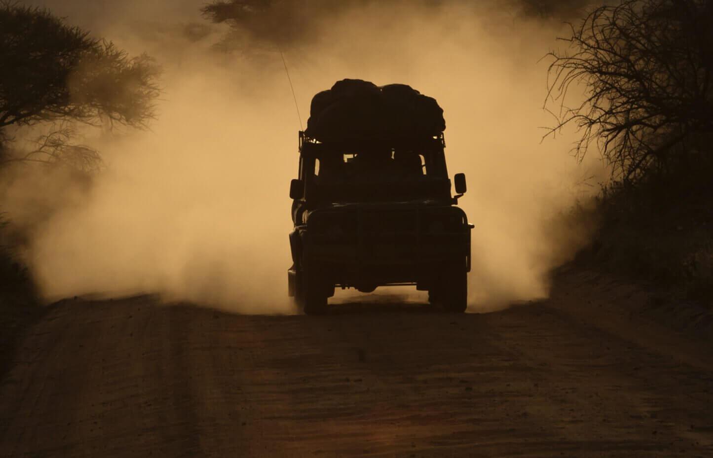 Off-road - jazda za kierownicą auta terenowego