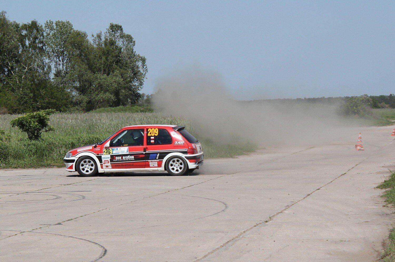 Rajdowy trening jazdy w Poznaniu