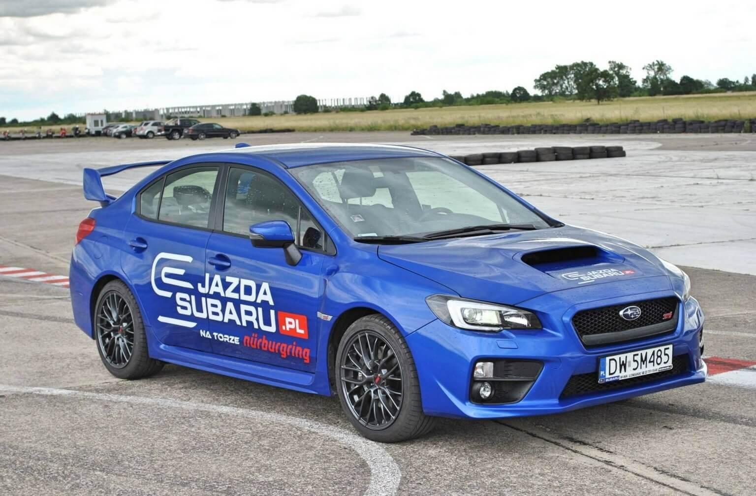 Jazda Subaru WRX