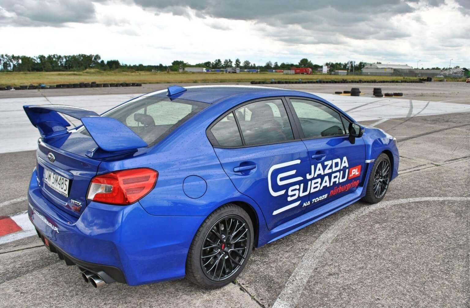 Jazda samodzielna Subaru WRX