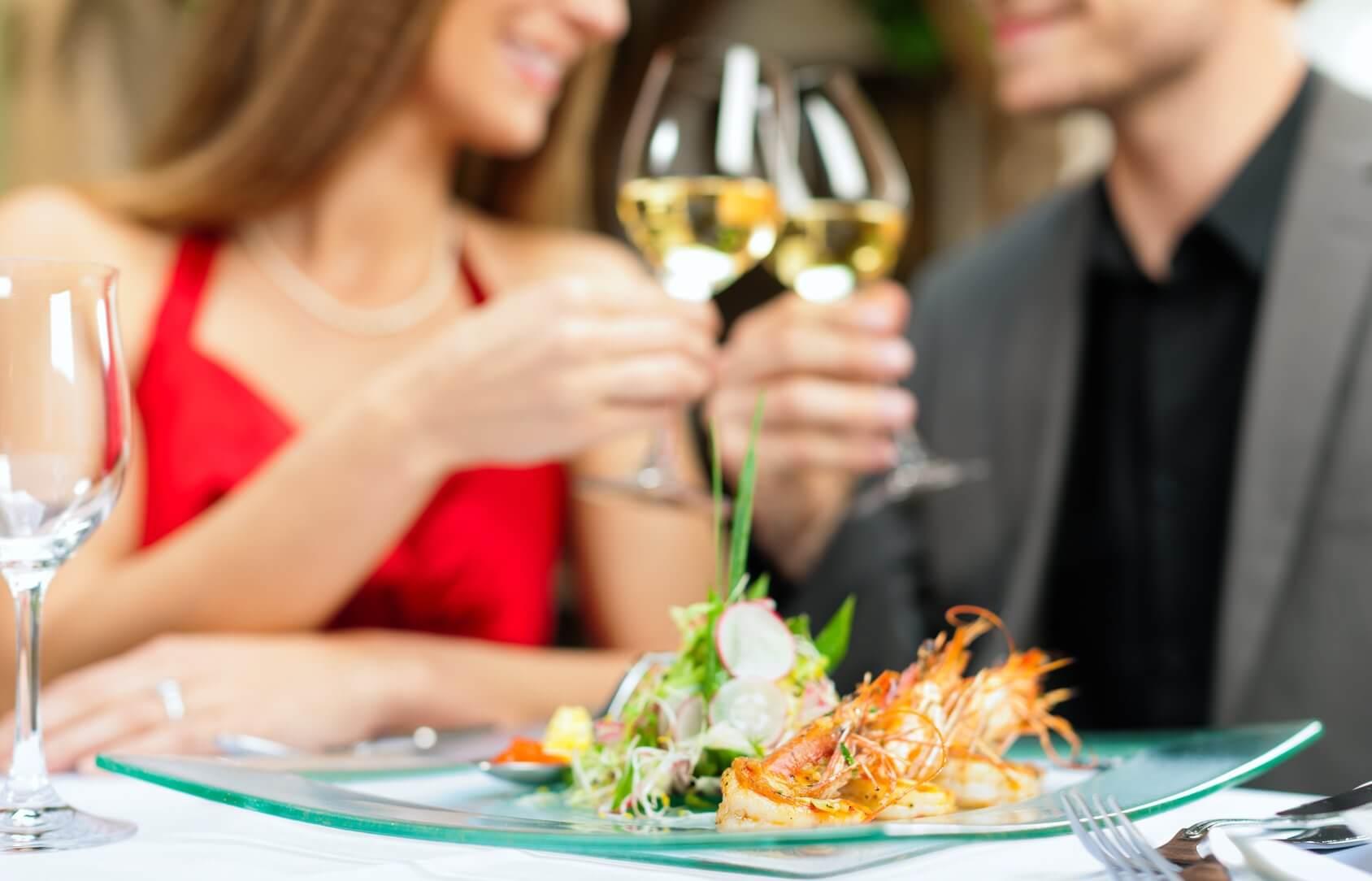Romantyczna kolacja - walentynki