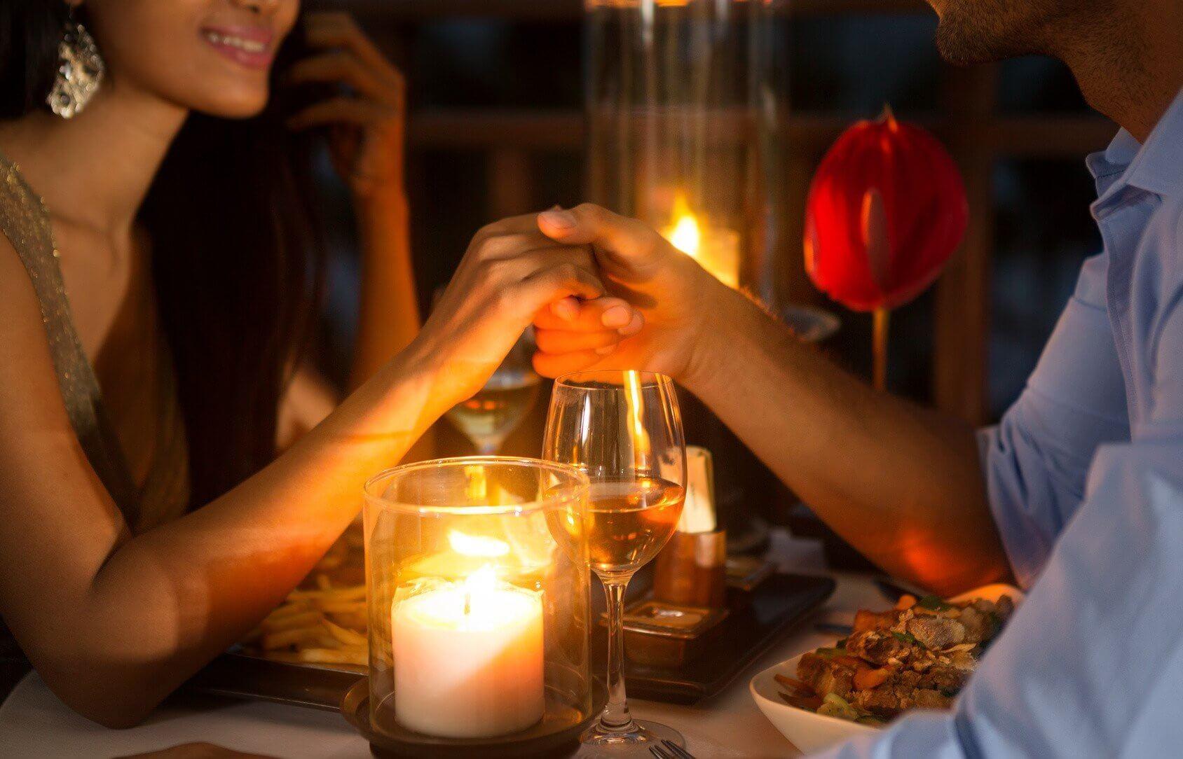 Walentynkowa kolacja - Trójmiasto