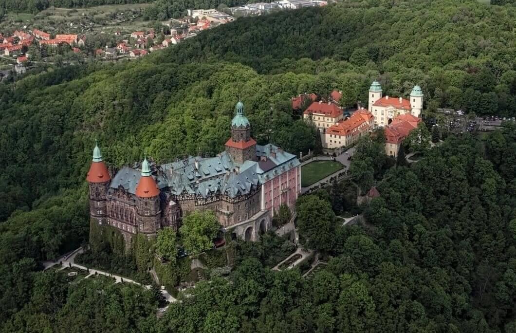 Lot szybowcem - okolice Książa