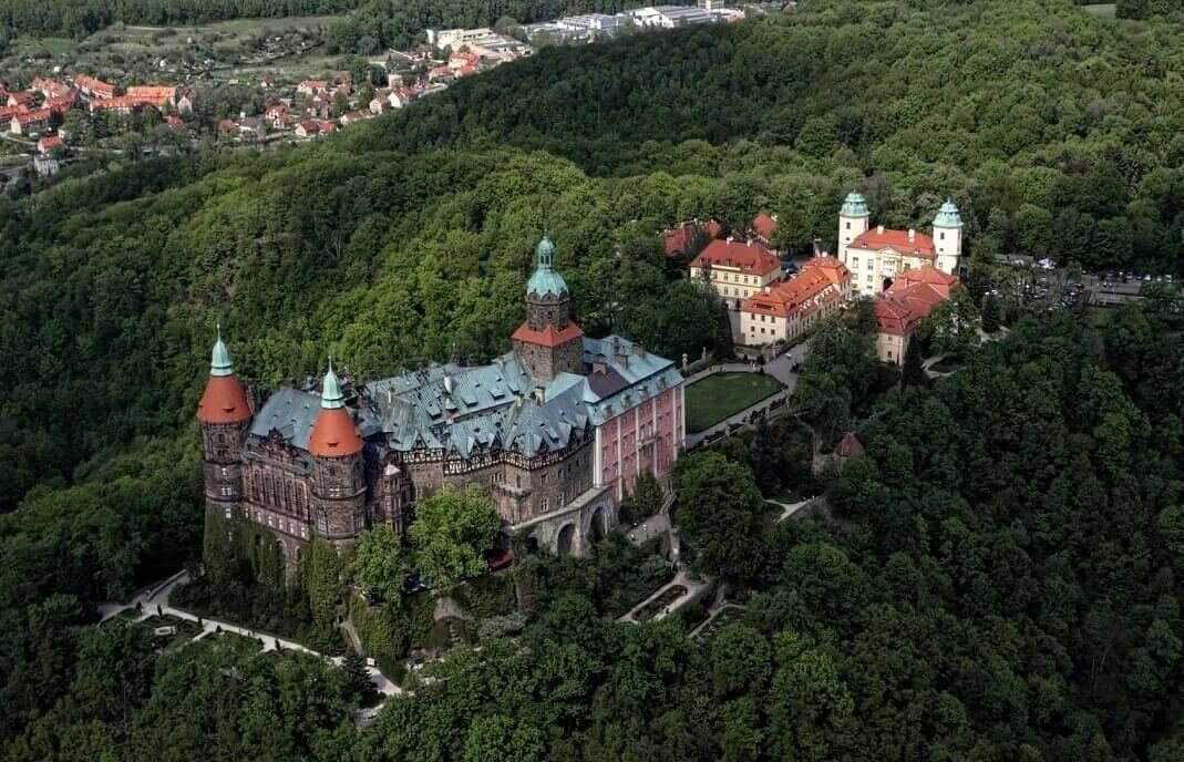 Loty widokowe  - Dolny Śląsk