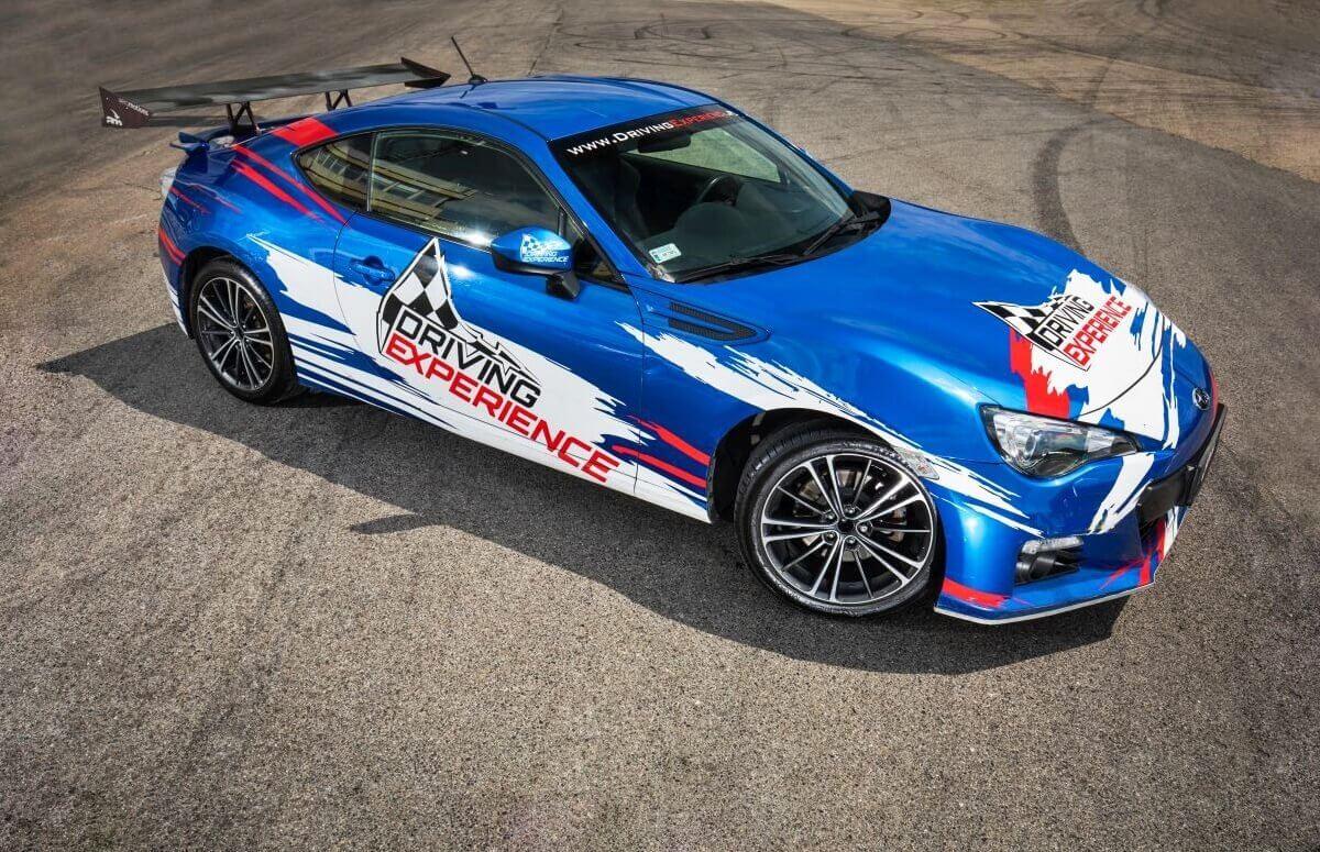 Subaru BRZ - Kurs driftu