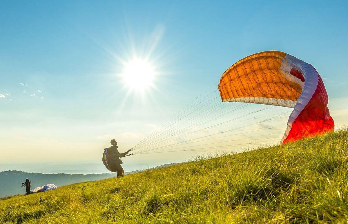 Kus parolotniarski - Nauka latania na paralotniach na Donym Śląsku
