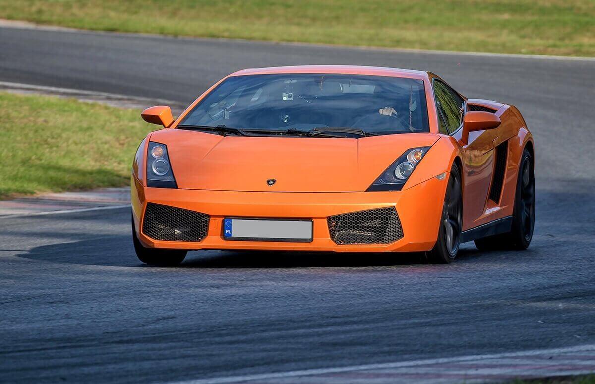 Ekstremalna jazda Lamborghini