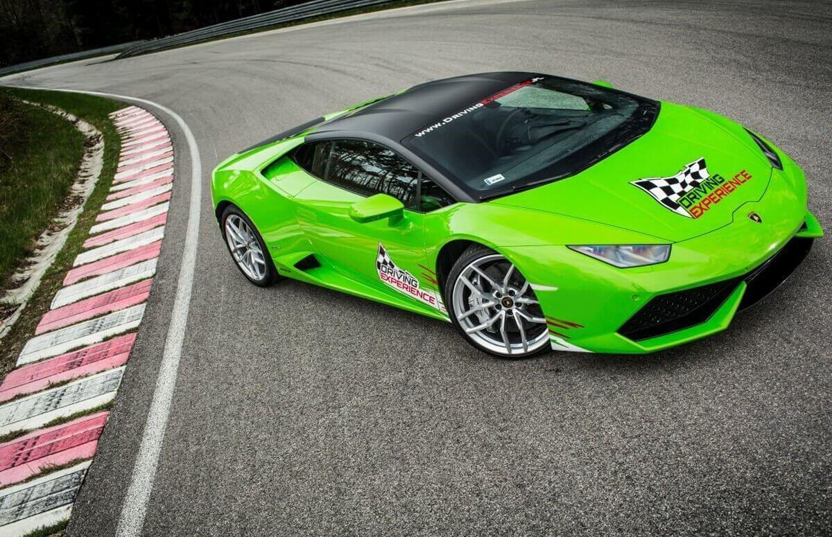 Jazda Lamborghini Huracan - 2 okrążena
