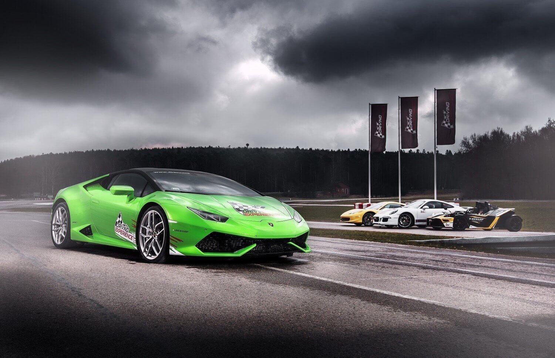 Tor Kielce - jazda Lamborghini
