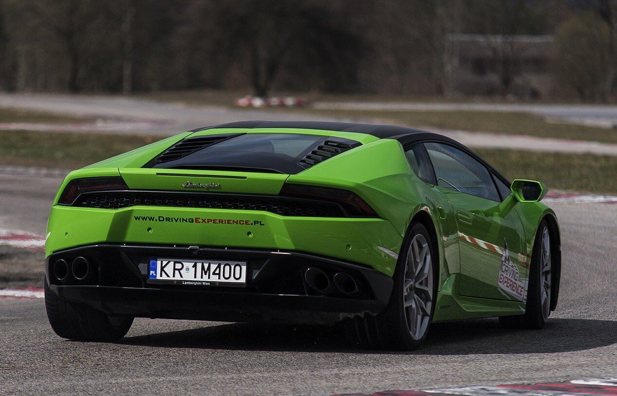 Lamborghini Huracan - jazda za kierownicą na torze