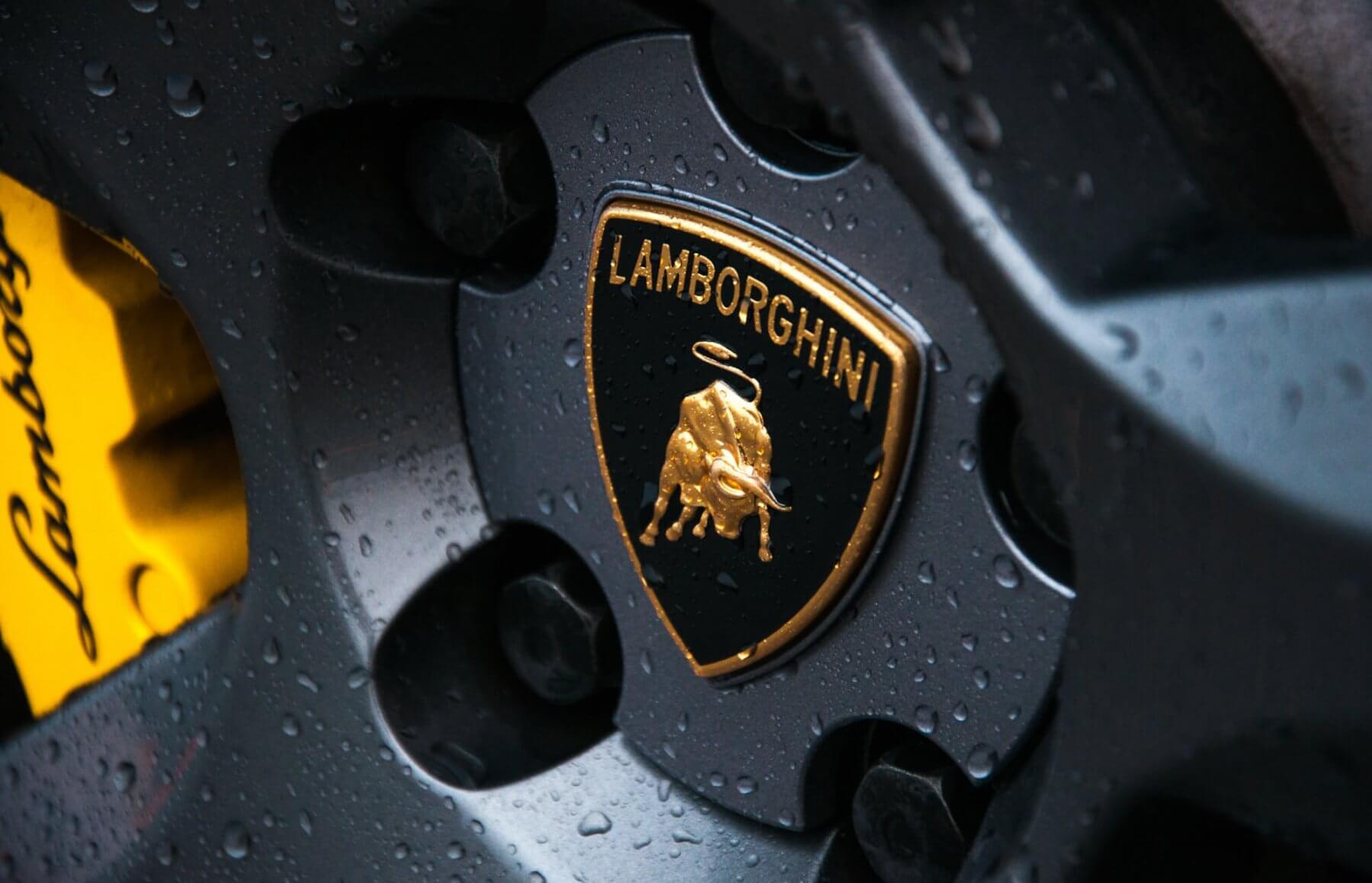 Jazda za kierownicą lamborghini