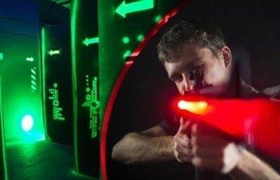 Laserowa bitwa paintballowa dla 6 osób