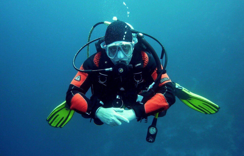 Lekcja nurkowania dla dziecka + podwodne zdjęcia