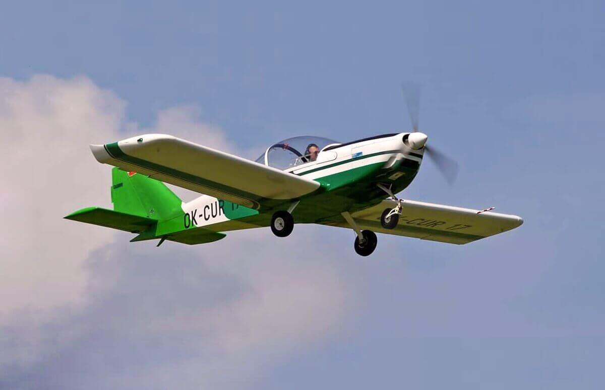 Lot widokowy 2-osobowym samolotem w okolicach Szczecina