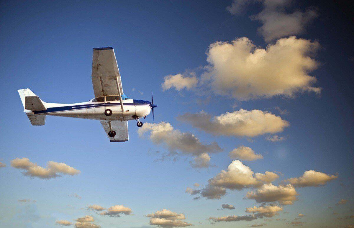Lot widokowy samolotem ultralekkim na Śląsku