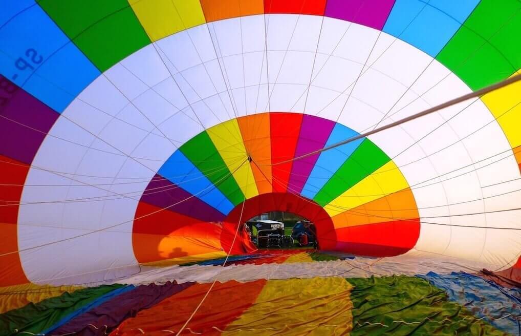 Ekskluzywny lot widokowy balonem