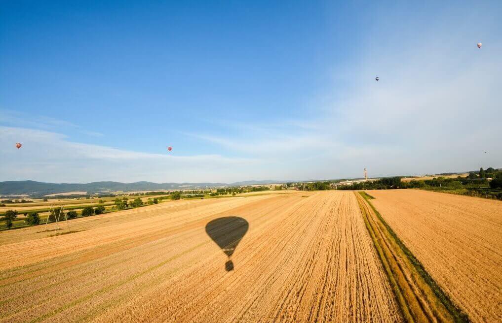 Lot widokowy w balonie