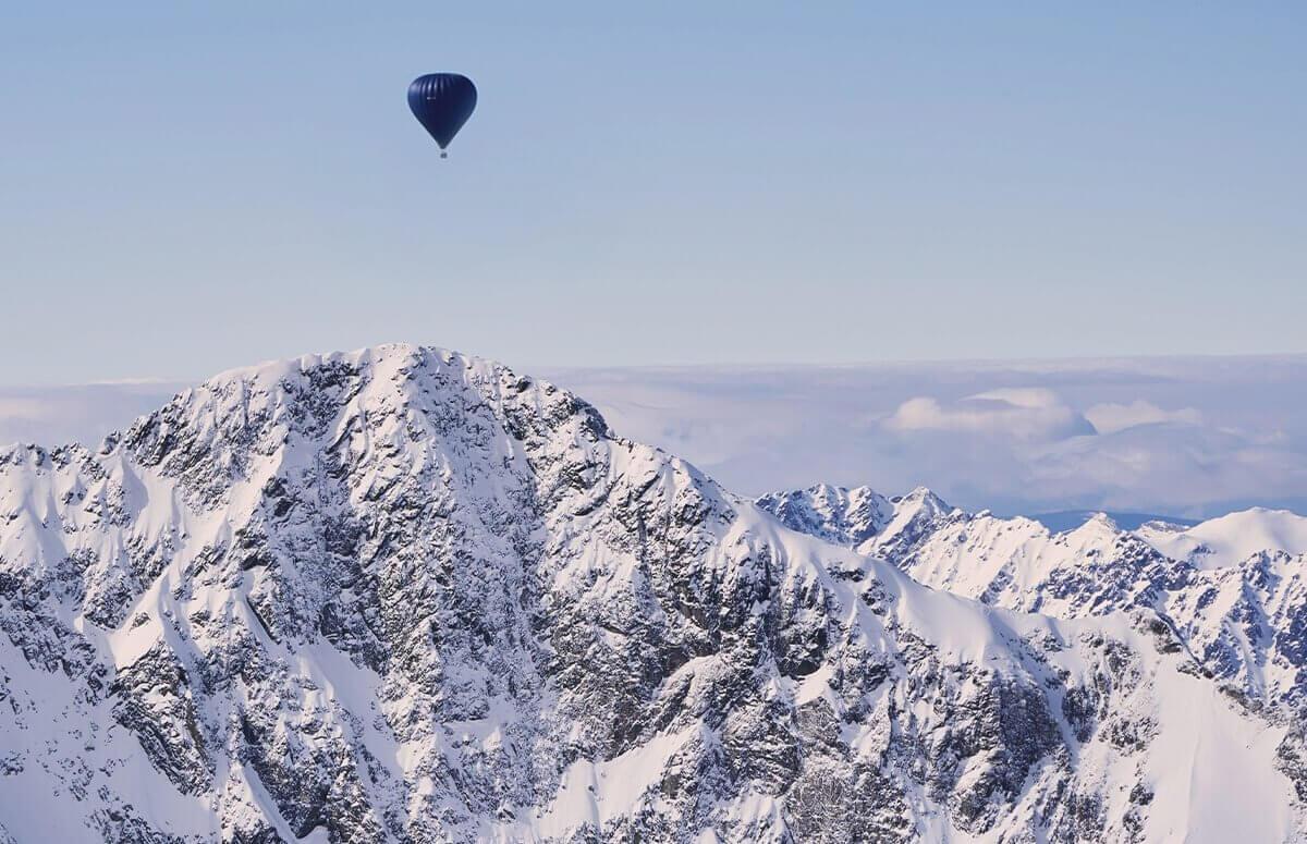 Lot balonem nad Zakopanem dla grupy