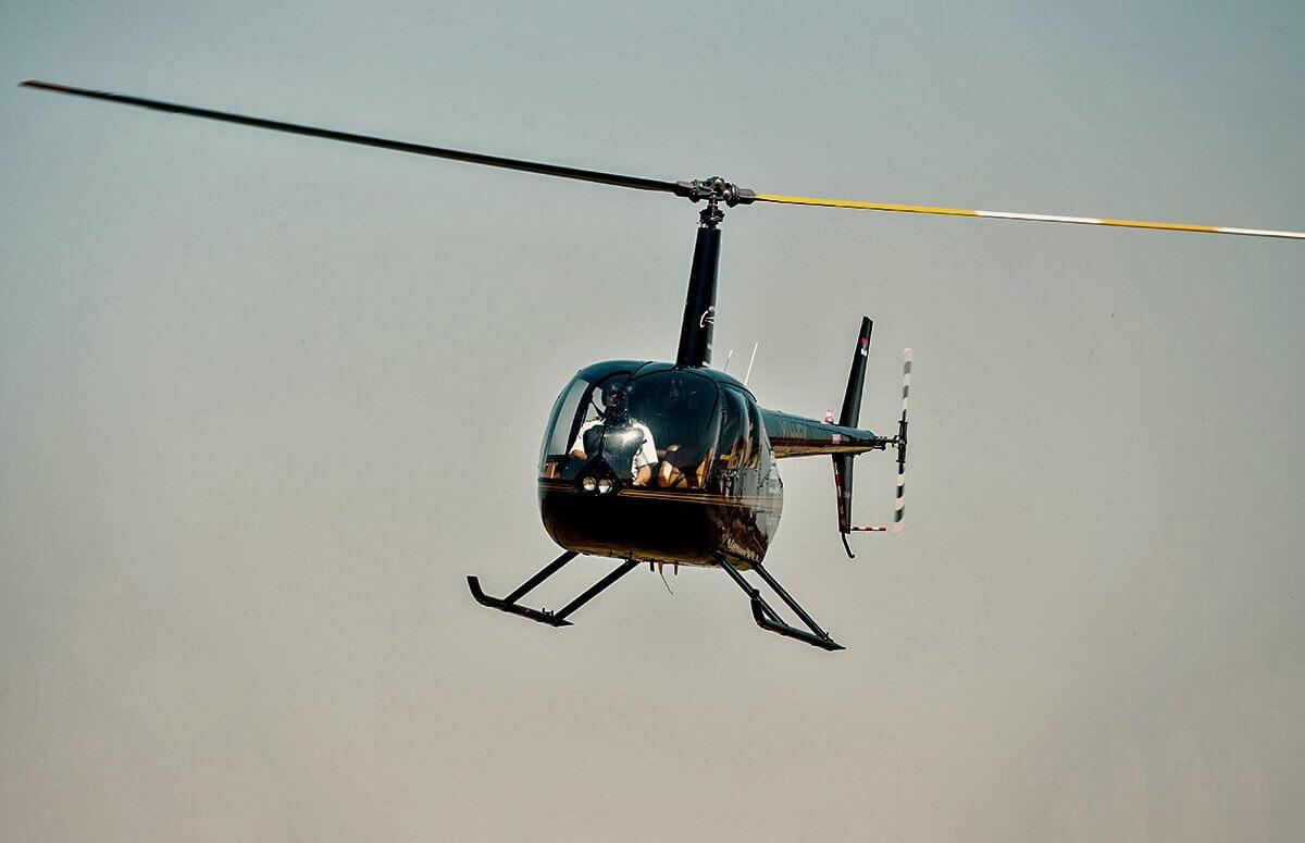 Przelot helikopterem nad Wrocławiem dla 2 osób