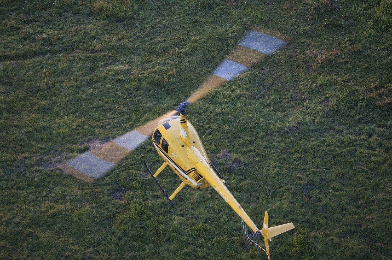 Loty helikopterem - 15 minut