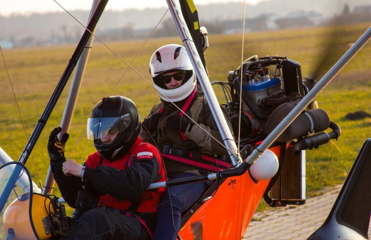 Lot motolotnią - Radom