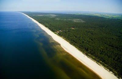 Lot widokowy nad Zatoką Gdańską dla pary
