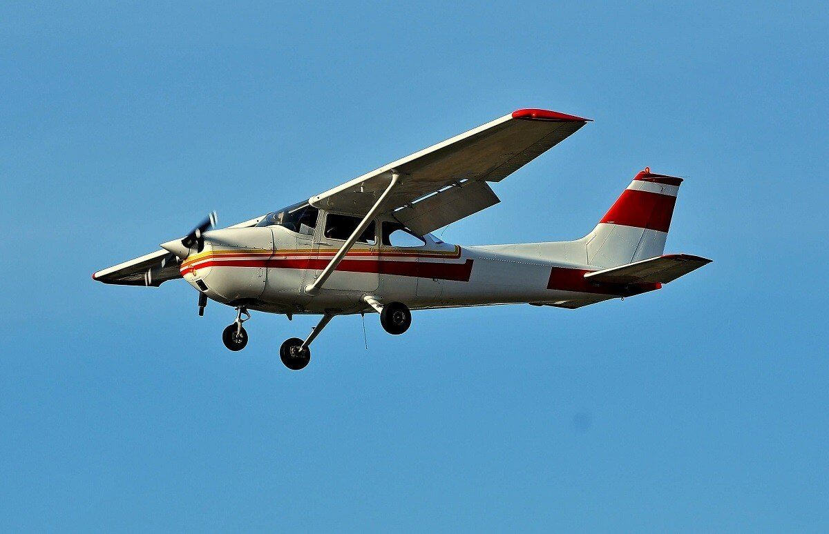 lot widokowy w samolocie
