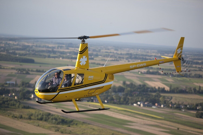 Lot widokowy dla 3 osób w helikopterze - 1 godzina