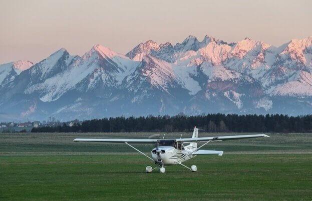 Tatry - obserwuj góry podczas lotu widokowego