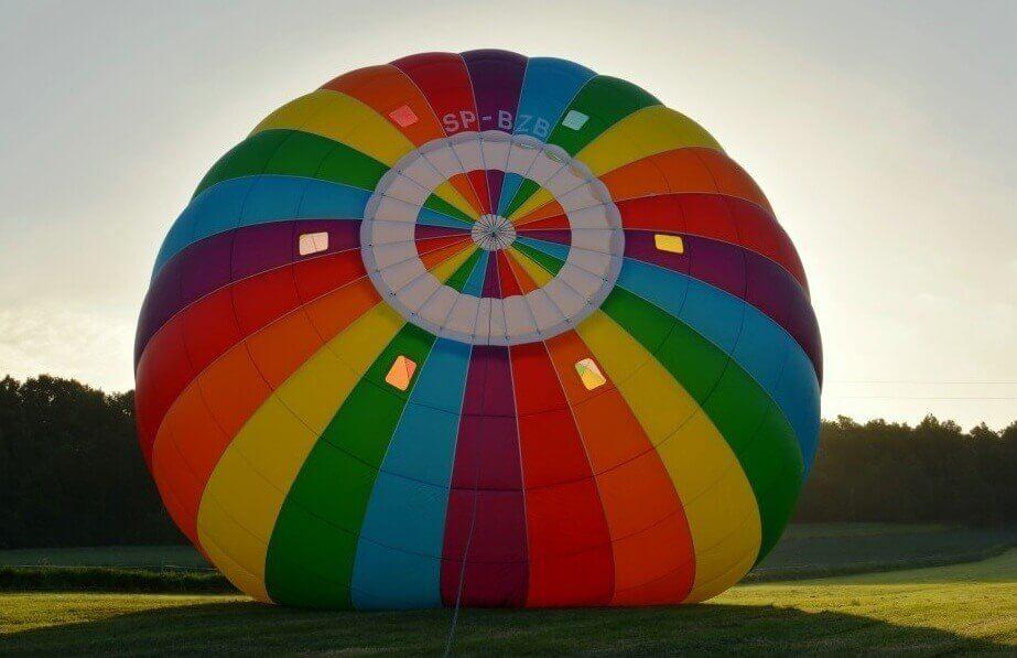 Lot balonem dla rodziców i dzieci