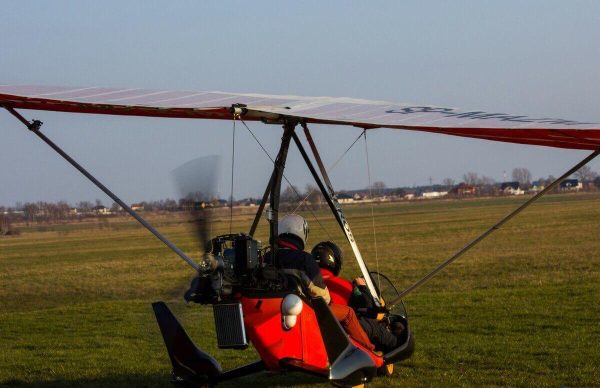 Loty motolotnią w Radomiu