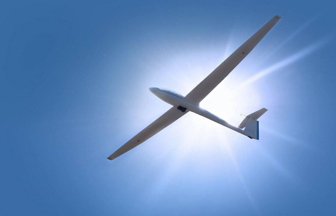 Lot w szybowcu - Trójmiasto